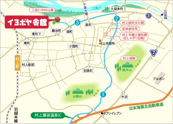 ICからのマップ